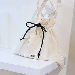 TangTangBags - 纯色帆布手提包