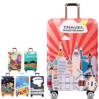 Pagala - Printed Travel Luggage Cover
