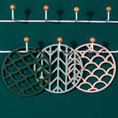 SIMBLER - Geometric Silicone Heat Resistant Pad