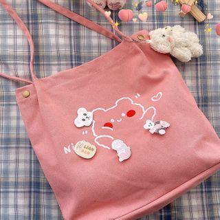 Bolso - 熊印花手提袋