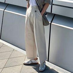 MRCYC - Crop Wide Leg Dress Pants