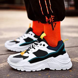 Auxen - Color Panel Sneakers