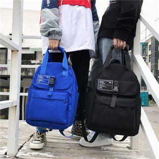 BagBuzz - Lettering Nylon Backpack