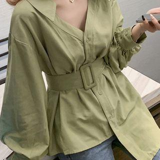 HYAKU - Buckled Shirt