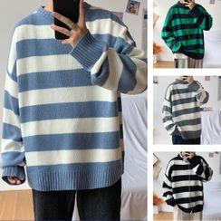 Besto - Striped Sweater