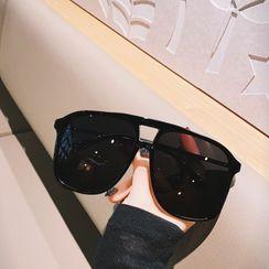 MOL Girl - Square Aviator Sunglasses