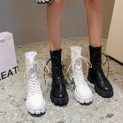 Chryse - 繫帶短靴