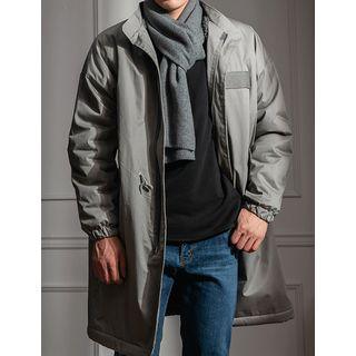 STYLEMAN - Sherpa-Fleece Lined Oversized Safari Coat