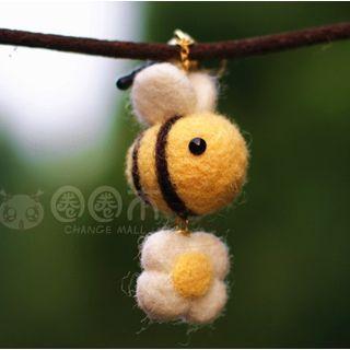 Crockett - Bee Needle Felting DIY Kit