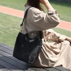 Evorest Bags - Plain Nylon Bucket Bag