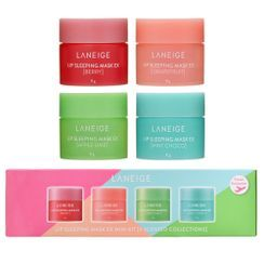 LANEIGE 蘭芝 - Lip Sleeping Mask Mini Kit 4 Scented Collections