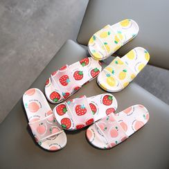 Luco - Kids Fruit Print Slide Sandals