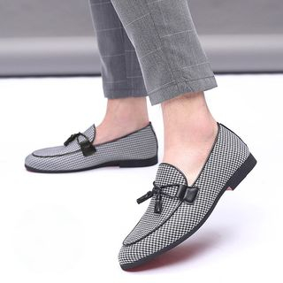 Snowpard - Houndstooth Loafers