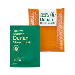 A'PIEU - Yellow Market Durian Sheet Mask Set