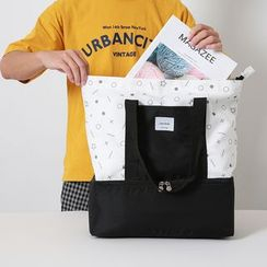 Evorest Bags - Printed Panel Insulated Tote Bag