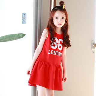 Youtale - Kids Printed Sleeveless A-Line Dress