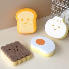 Cute Essentials(キュートエッセンシャルズ) - Cartoon Kitchen Cleaning Sponge