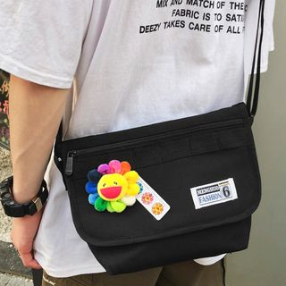 SUNMAN - Flap Canvas Messenger Bag