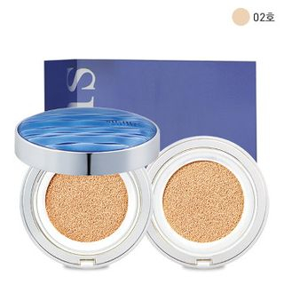 su:m37 - Water-Full CC Cushion Perfect Finish SPF50+ PA+++ With Refill (#2)