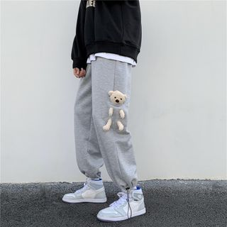 Cowpow - Bear Accent Sweatpants