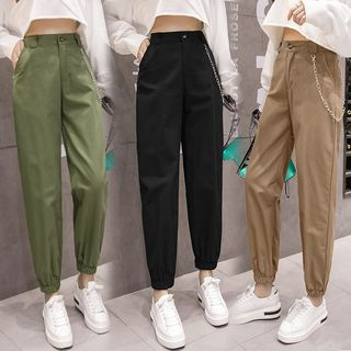 QUEQUE - Cuffed Jogger Pants