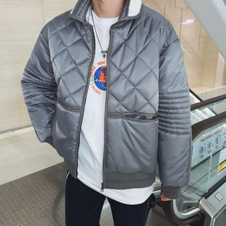 LOOKUN - Quilted Padded Jacket