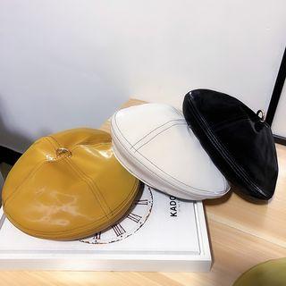 FROME - 配色饰缝线贝雷帽