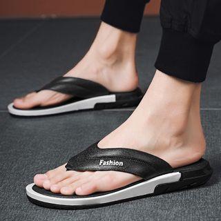 JACIN - Lettering Platform Flip-Flops