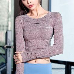 Wheatfield - Sport Long-Sleeve T-Shirt