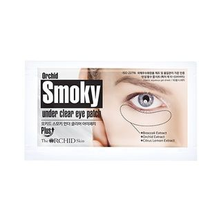 The ORCHID Skin - Orchid Smoky Under Clear Eye Patch Set