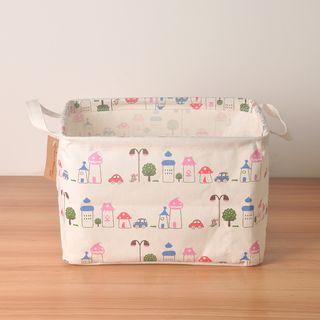 Hyole - Cotton and linen cosmetic storage box