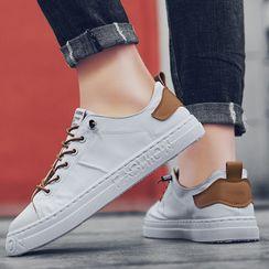 JACIN - 系带厚底休閒鞋