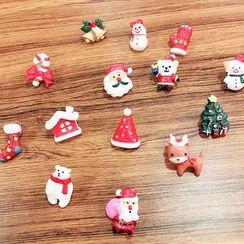 Naoko - 树脂圣诞胸针饰针 (多款设计)