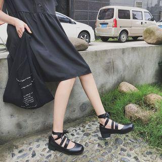 CYOS Lace-Up Mary Jane Shoes | YesStyle