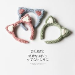 Kawano - Cat Ear Chenille Headband