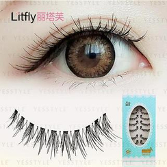 Litfly - Eyelash #301 (10 pairs)
