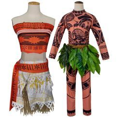 Glomp - Moana Cosplay Costume