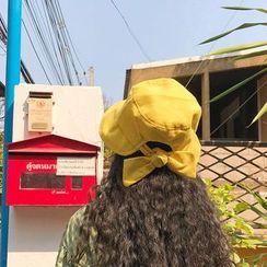 WINKA - 蝴蝶结纯色渔夫帽