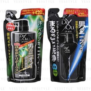 Rohto Mentholatum - De Ou Body Wash Refill 420ml - 2 Types