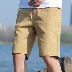 Ninine - 貼布繡短褲