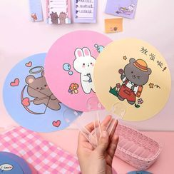 Carche - Cartoon Animal Foldable Hand Fan