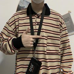 Banash - Striped Polo Shirt