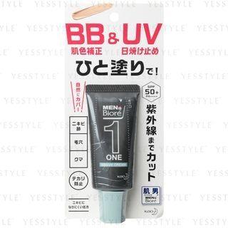 Kao - Men's Biore One BB & UV Cream SPF 50+ PA++++