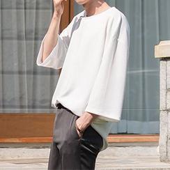 STYLEMAN - Boxy Textured T-Shirt