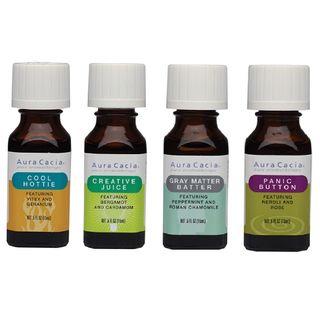 Aura Cacia - Essential Oil Blends 0.5 oz (4 Types)