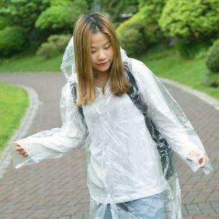 Home Simply - Transparent Disposable Raincoat