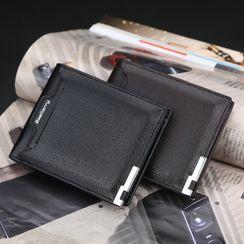 ETONWEAG - Faux Leather Short Wallet