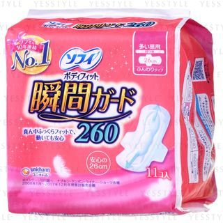 Unicharm - Sofy Daily Wing Feminine Pads 26cm
