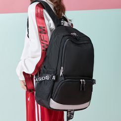 Bag Hub - 插色尼龍背包