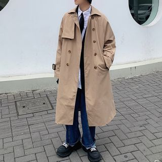 POSI - Double-Breasted Trench Coat